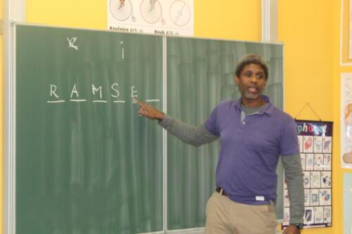 Týden s angličtinou a Mr Ramseym